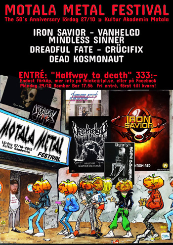 Motala Metal Festival 2018