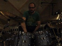 Drum Recording Session for new Iron Savior Release