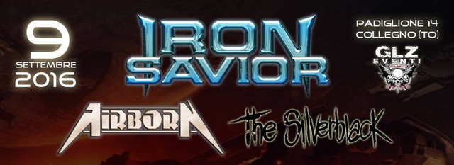 Iron Savior & Airborn share stage again in Italy