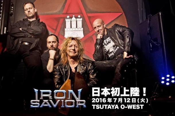 Iron Savior to land in Japan