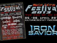 Iron Savior confirmed for Metal Inferno Festival