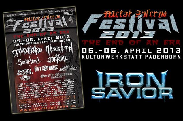 Iron Savior confirmed for Metal Inferno Festival