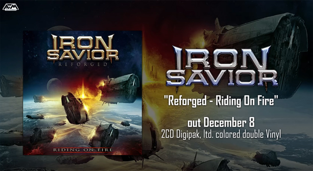 """Reforged – Riding On Fire"" will be released on December 8th."